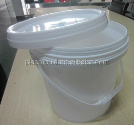 Plastic Injection Mould/Moulding design Hot runner Bucket Mold/Molding oil bucket mould