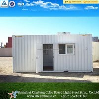 20ft shipping container homes prefabricated container house for sale/china Modern durable shipping container house