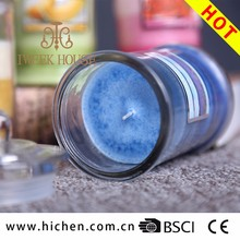 Top Quality Multi Color Paraffin Wax Scented Candles With Two Size For Decoration