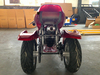 Full start gas powered motor tricycle dirt bike for kids