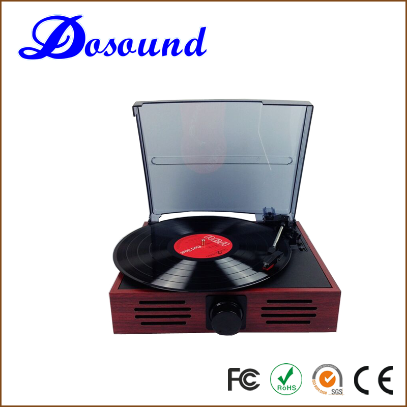 DS-106 multiple USB SD simple manual record player vinyl gramophone turntable player