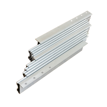 Telescopic long extension expansion table slide hardware