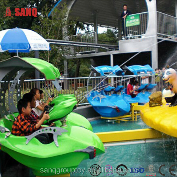 Exciting Fairground Rides Children Water Shooting Game