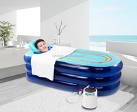"""EVERFOUNT SPRING"" China Best Hot Sale Home Use Inflatable Spa Portable Bathtub with CE and RoHS Certificates"