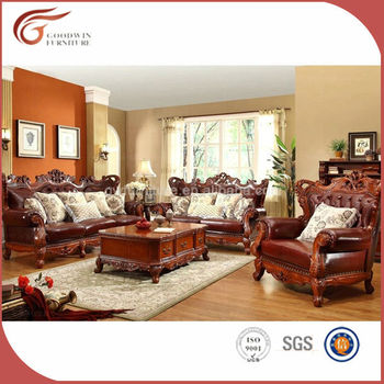 Cheap arabic style solid wood antique living room furniture a93 buy italian living room for Cheap oak living room furniture