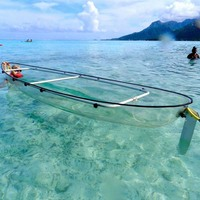 Plastic Clear Canoe Kayak with Price