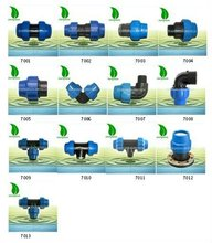 Agriculture Irrigation PE compression pipe fitting