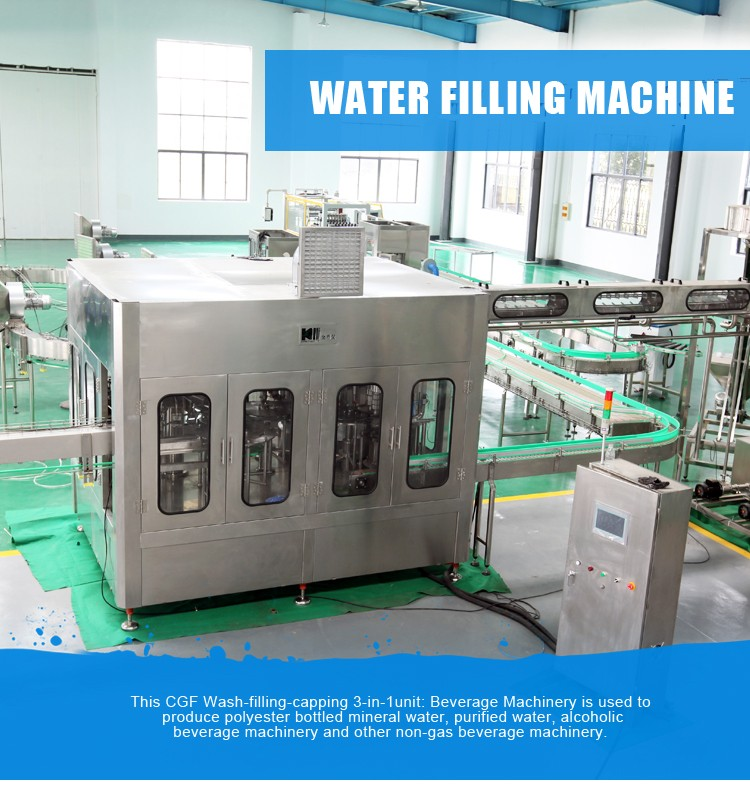 3In1 Mineral Bottling Water Line