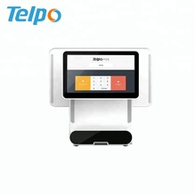 Touch Screen Counter Pos point of sale cash register with cash drawer