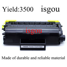Toner Cartridge Printers - Black compatible with Brother TN-580 (TN580), compatible with Brother D| HL-2040 | HL-2070 | MFC-7220