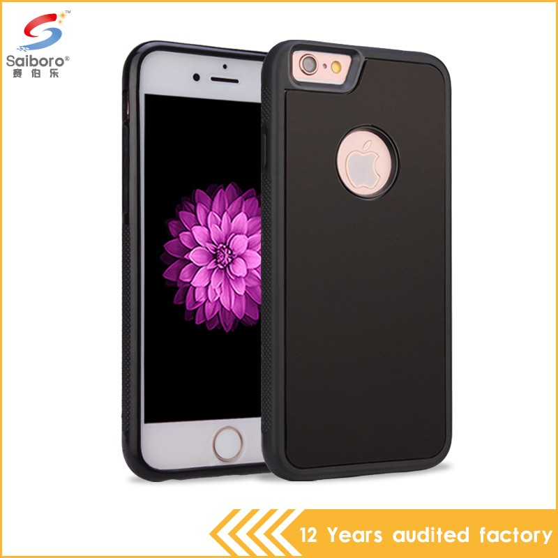 Guangzhou wholesale unique design two in one anti-gravity protector case for iphone 6
