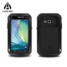 Hot Sale Cheap LOVE MEI Shockproof waterproof mobile phone case for Samsung galaxy A3 cover