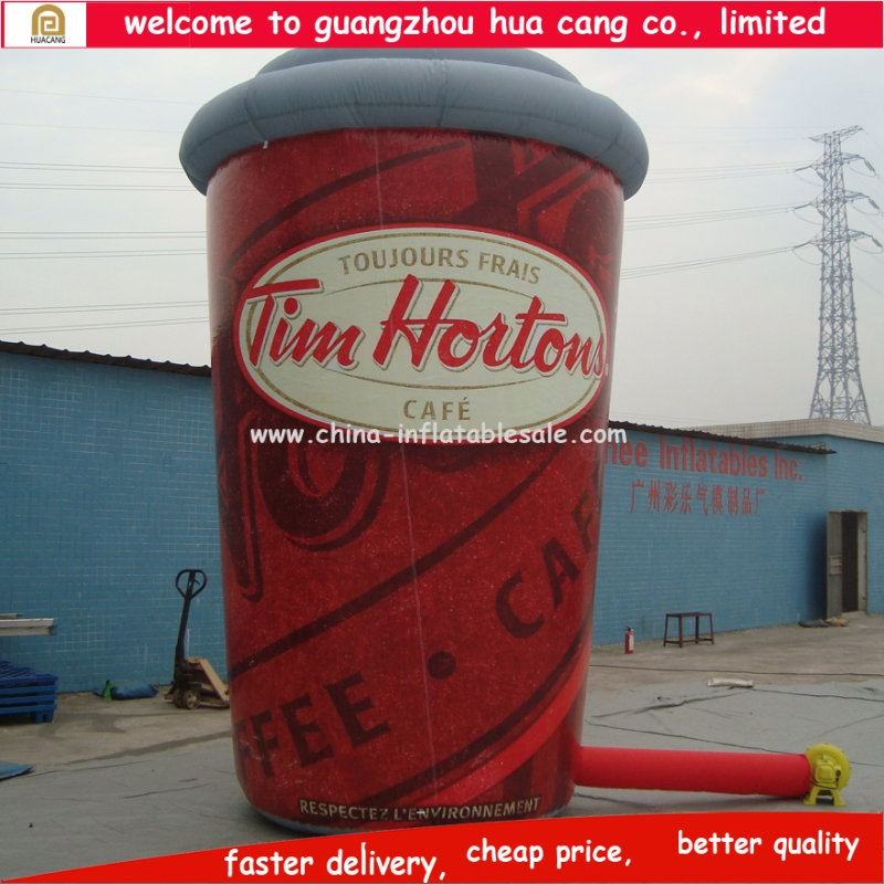 Giant inflatable cup, giant inflatable coffee cup, giant inflatable for promotion