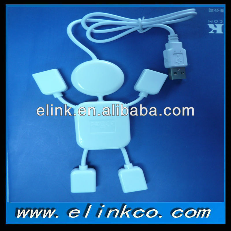 1male in 4 female splitter USB Hub cable in stock