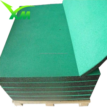 Hot sale high quality anti slip corrugated rubber floor mat