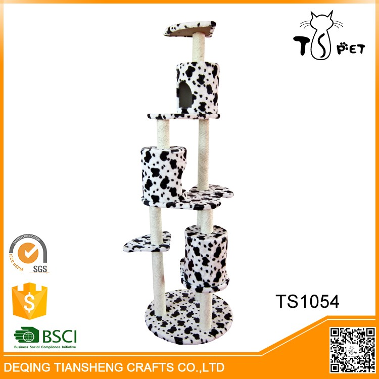 China Factory Supply Hot Sale Premier Cat Scratcher Tree