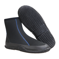 Mens Neoprene Diving Boots With YKK Zipper
