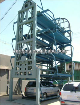Vertical rotary parking system
