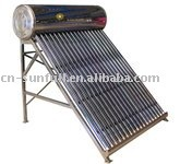 stainless steel non-pressurized solar water heater