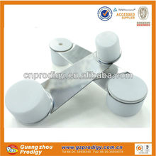 plastic metal decorative rotating door wedge stopper