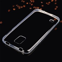S5002 Transparent Phone Case for Samsung Galaxy S5 i9600 , 0.6mm Mobile Phone Ultra Thin Soft TPU Cover for Samsung Galaxy S5