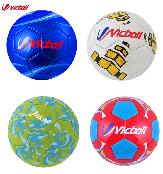 Personalized Machine Sewing Mixture Color Foam PVC football ball Size 5#, 4#, 3#, 2#, 1#