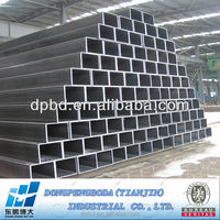 Structural Hot Rolled ERW Steel Hollow Section Manufacturer above 10Years