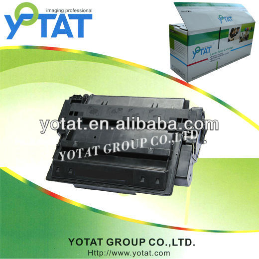 YOTAT Black toner cartridge for HP Q7551A HP Q7551X with HP laserjet 3005