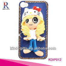 Bling Rhinestone Design Cellular Phone Cases For Iphone5C 5S China Supplier