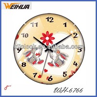 "8"" arched children wall clocks wholesale"