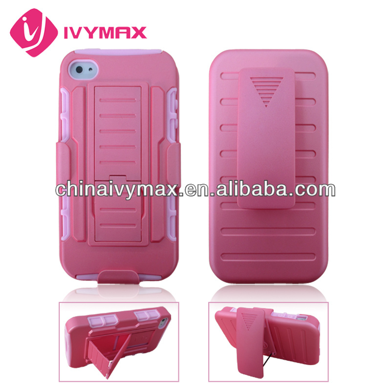shockproof case for iphone 4S beautiful phone cover