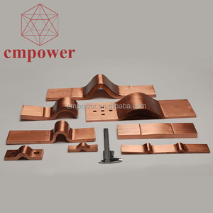 Substations application laminated copper electrical shunts