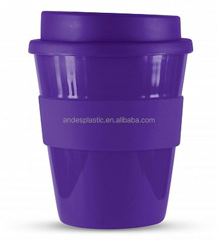 Widely Used Durable Cheap Customized Logo Double Layer Plastic Cup