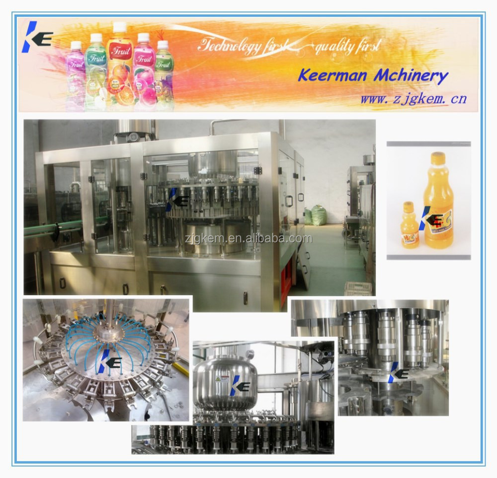 KEM New automatic juice filling machine/ production line