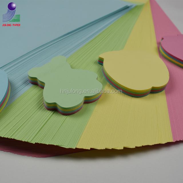 Cheap ream colored copy paper printer paper for scrapbook and memo