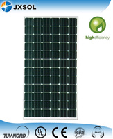 Monocrystalline Silicon High Power Efficiency Solar Panels 300 Watt with TUV IEC certificate