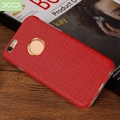 TPU PC PU Leather Coated Material with Magnet back Case for iPhone 6 6S
