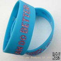 Fashion Accessories Cheap Silicone Wristband