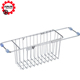 Factory Sale Kitchen Sink Wire Hanging Storage Basket With Customized Logo And Size
