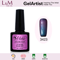 GelArtist Easy Soak Off Chameleon nail polish color uv gel polish