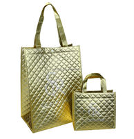 Nonwoven gift bag, Nonwoven bag for shopping, metallic lamination nonwoven bag