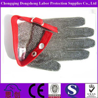 ANSI level 5 Anti Cut stainless steel mesh glove oyster knife for butchers