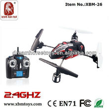2.4G rc ufo quad helicopter with special quadcopter motor