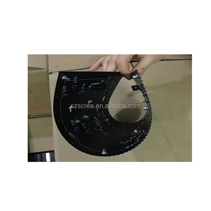Hot selling Indoor SMD full color P4 flexible <strong>led</strong> <strong>display</strong>