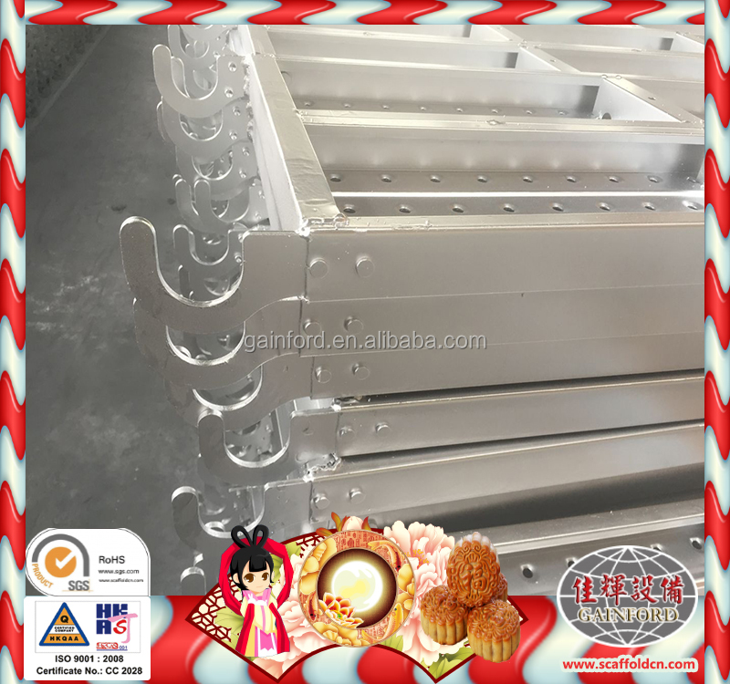 Factory Direct deal scaffolding board dimensions galvanized metal decking