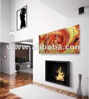 Fire storm Metal Wall Art