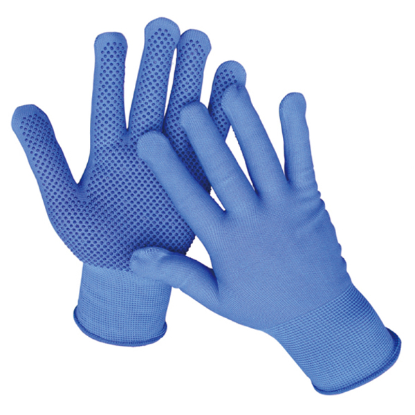 Customized PVC working gloves, cut-resistant safety work gloves, slip glove