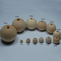 Round Original Wood Beads Wooden Beads