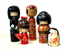 kokeshi puppets toy wooden traditional wholesale japanese doll