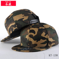 high quality wholesale 6 panel snap back caps camouflage snapback hats